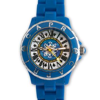 カプリCAPRIArt.4931腕時計/檀れい紹介/南イタリア/アルベロベッロの旅/ヨーロッパ水風景