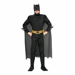即納 3点セット!!映画 バットマン ダークナイト The Dark Knight BATMAN /コスチューム 大人用/ハロウィン/コスプレ/衣装/仮装/面白い/キャラクター/学園祭/文化祭/学祭/大学祭/高校/イベント