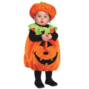 【レビューを書いて送料無料】赤ちゃん用 かぼちゃのハロウィン衣装2点セット!赤ちゃん用 かぼ...