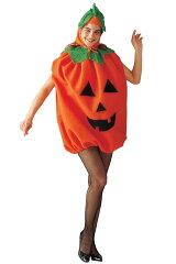 Unisex Pumpkin Adult Costumeハロウィン コスプレ Unisex パンプキン カボチャ 大人用 衣装 大...