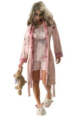 The Walking Dead Little Girl Zombie Adult Costumeゾンビ/ウォーキング・デッド The Walking ...