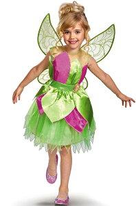 Disney Fairies Tinker Bell Deluxe Child Costumeディズニー ティンカーベル 女の子,子供用コ...