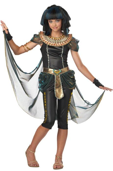 Dark エジプト人 古代エジプト Egyptian Princess Tween コスチューム クリスマス ハロウィン コスプレ 衣装 仮装 男の子 女の子 子供 小学生 かわいい 面白い 学園祭 文化祭 学祭 大学祭 高校 イベント