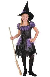 02a9c239a7ce6 Sparkle 魔女 Witch 子供用コスチューム ハロウィン コスプレ 衣装 仮装 男の子 女の子 子供 小学生 かわいい 面白い