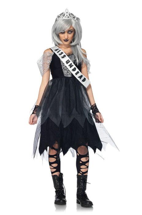 ゾンビ Zombie Prom Queen ティーンサイズ コスチューム クリスマス ハロウィン コスプレ 衣装 仮装 大人用 面白い 学園祭 文化祭 学祭 大学祭 高校 イベント