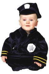 ハロウィン パーティ コスチューム Little Police Bunting 幼児,子供用 衣装 幼児 赤ちゃん 0歳 1歳 かわいい 面白い 学園祭 文化祭 大学祭 ベビー服 出産祝い 誕生日 お祝い コスプレ 変装 仮装