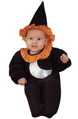 コスプレ コスチューム Little 魔女 Witch Bunting 幼児,子供用 衣装 幼児 赤ちゃん 0歳 1歳 かわいい 面白い 学園祭 文化祭 大学祭 ベビー服 出産祝い 誕生日 お祝い ハロウィン 結婚式二次会 仮装 変装