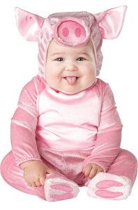 This Lil' Piggy 幼児,子供用コスチューム クリスマス ハロウィン コスプレ 衣装 仮装 幼児 赤ちゃん 子供 0歳 1歳 かわいい 面白い 学園祭 文化祭 学祭 大学祭 高校 イベント ベビー服 出産祝い 誕生日 お祝い