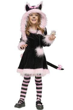Hooded Pretty Kitty 幼児,子供用コスチューム ハロウィン コスプレ 衣装 仮装 幼児 赤ちゃん 子供 0歳 1歳 かわいい 面白い 動物 アニマル 学園祭 文化祭 学祭 大学祭 高校 イベント ベビー服 出産祝い 誕生日 お祝い