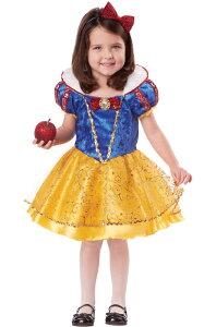 白/幼児/Snow White Deluxe Toddler Costume白雪姫 Snow White Deluxe 幼児,子供用コスチューム...
