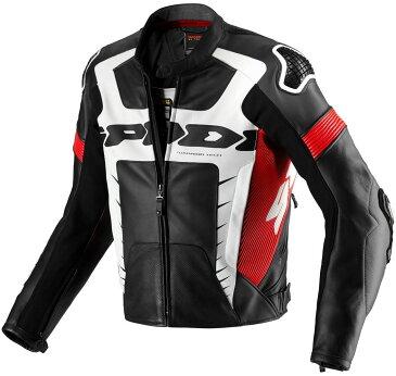 Spidi スピーディー Warrior Pro バイク用品 メンズ バイクウェア モトクロス レザージャケット 革ジャン ライダースジャケット