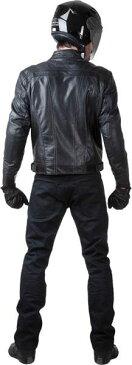 AXO Blackjack Leather Jacket バイク用品 メンズ バイクウェア モトクロス レザージャケット 革ジャン ライダースジャケット
