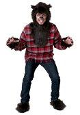 ハロウィン コスプレ WEREウルフ オオカミ 狼 大人用 メンズ 男性用 衣装 衣装 学園祭 文化祭 コスチューム 仮装 変装