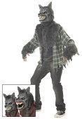 ハロウィン キャラクター コスプレ フルMOON WEREウルフ オオカミ 狼 大人用 メンズ 男性用 衣装 衣装 学園祭 文化祭 コスチューム 仮装 変装