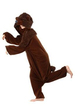 コスプレ ハロウィン BROWN クマ 熊パジャマ 大人用 メンズ 男性用 衣装 衣装 学園祭 文化祭 コスチューム 仮装 変装