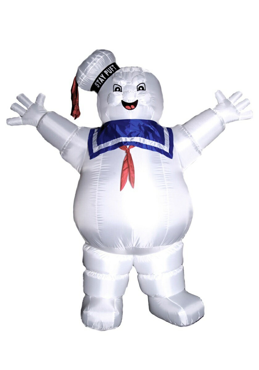 GHOSTBUSTERS STAY PUFT INFLATABLE ハロウィン コスプレ コスチューム 仮装:Mars shop