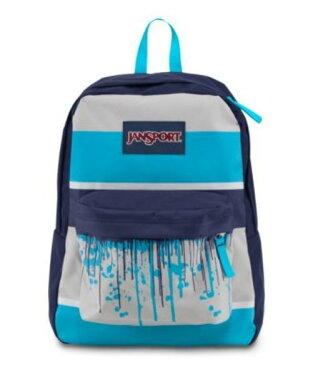 JANSPORT ジャンスポーツ バックパック リュックサック SUPERBREAKR MAMMOTH BLUE DRIP STRIPE バッグ カバン