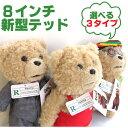 激レア 正規品 TED テッド ぬいぐるみ 8インチ(約20cm) 「クリーントーキング版(通常版)」ジャマイカ風 エプロン スーツ 映画 グッズ Teddy Bear テディベア Apron Suit Limited Edition 誕生日 ホワイトデー 誕生日プレゼント
