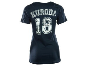 New York Yankees Hiroki Kuroda MLB Women's Sugar Player T-ShirtNewEra ニューエラ New York...