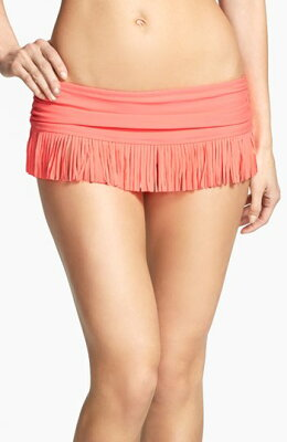 Jessica Simpson 'Goa' Fringe Skirted Bikini Bottomジェシカシンプソン/Jessica Simpson 'Goa...
