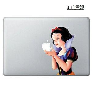 Macbook 白雪姫 Snow White マックブック ステッカー Goth Princess 13,15インチ Macbookアク...