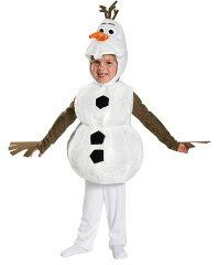 アナと雪の女王 雪だるま オラフ コスチューム 子供用 コスプレ ハロウィン 子供服 キッズ 衣装 ディズニー 公式 変装