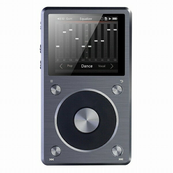 FiiO X5 2nd ハイレゾ・デジタルオーディオプレーヤー 2nd generation 最新モデル ポータブルプレーヤー:Mars shop