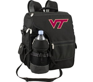 Picnic Time Turismo Virginia Tech Hokies Print - BlackPicnic Time Turismo Virginia Tech H...