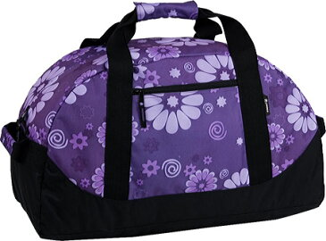 JWorld New York Lawrence 30 Sport Duffel - Purple Flower バッグ 鞄 かばん ダッフルバッグ