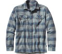 パタゴニア Patagonia Fjord Flannel Shirt - Saucer Pass Feather Grey トップス シャツ