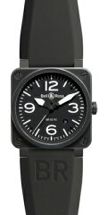 Bell & Ross ベル&ロス BR03-92-Carbon/BR0392CarbonBell & Ross ベル&ロス Aviation BR03-92 A...