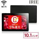 【予約 6/26出荷】10.1インチ Android タブレット 本体 wi-fi 新品 32GB 2GRAM GPS クアッドコア IPS 10.1型タブレットPC wifi 格安 アンドロイド 10インチ 以上 ブラック IRIE MAL-FWTVTB01B