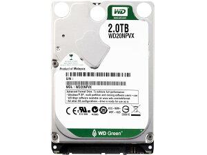 2.5インチ2TBWD20NPVXリファービッシュ【2TB】2TB8MBSATA60015mmWesternDigital2.5HDD