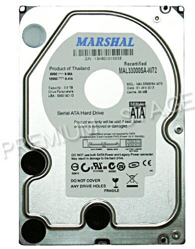 MAL34000SA-T72MARSHAL 3.5インチHDD SATA harddiskdrive ハードディスクドライブ