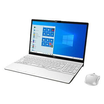 ノートパソコン office付き 新品 同様 訳あり 富士通 FMV LIFEBOOK AH53/D3Core i7 8565U Windows10 1TB + 512GB SSD 8GB 15.6インチ フルHD BD 無線LAN Microsoft Office付属 FMVA53D3WG