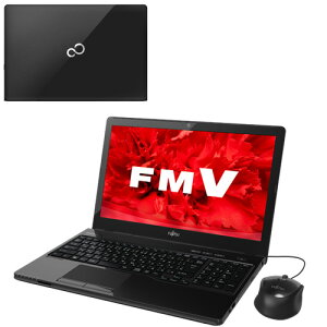 【訳あり】富士通FMVLIFEBOOKAH30/WFMVFMVA30WB4+KingsoftOffice2013添付15.6インチWin10AMDE1-7010500GBDVD-RWメモリ4GB
