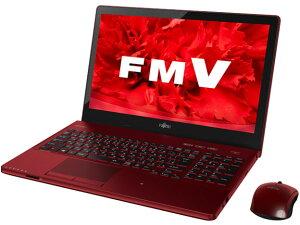 ☆2015年5月発売【訳あり】FMVLIFEBOOKH77/UFMVA77URKS(レッド)+KingsoftOffice2013Win8.1Corei7-4722HQ15.6LEDフルHDタッチパネル式Blu-rayNFC