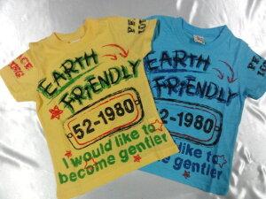 Blue Mart EARTH FRiENDLY  Tシャツ 110cm120cm130cm激安!!SALE!!(メール便OK) 大幅値下!! セ...