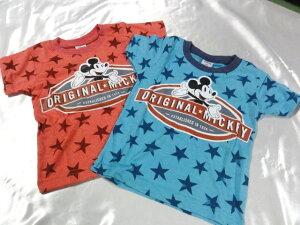 Disney ミッキー スター   半袖Tシャツ 100cm110cm120cm130cm激安!!SALE!!(メール便OK) 大幅...