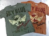 BlueMart大人気ゆるキャラシリーズLEGENDOFHEROSレインボー刺繍半袖Tシャツ100cm110cm120cm130cm