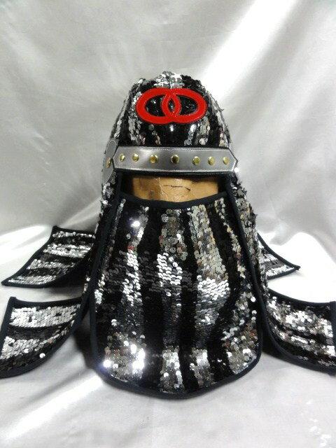 忍者 頭巾 SDX  スパンコール製 グレートムタ コスプレ ハロウィン にどうでしょ:マシュマロ モンスター