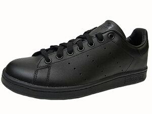 【送料無料】adidas STAN SMITH アディダス スタンスミスBLACK ブラック 黒 Yep_100
