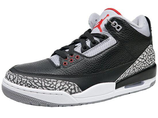 メンズ靴, スニーカー  3 NIKE AIR JORDAN3 RETRO OG AJ3 BLACK
