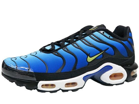 メンズ靴, スニーカー NIKE AIR MAX PLUS OG BLACKCHAMOS-SKY BLUE