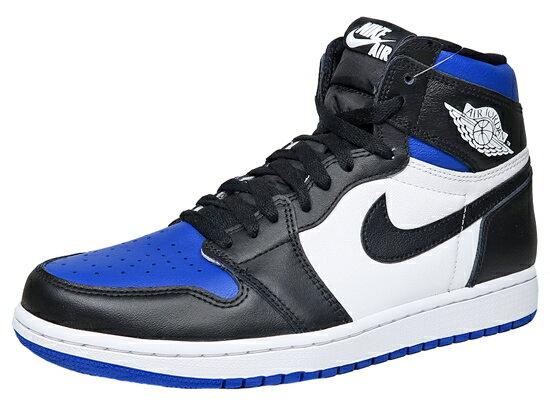 メンズ靴, スニーカー NIKE AIR JORDAN 1 RETRO HIGH OG ROYAL TOE 1 OG BLACKWHITEGAME ROYAL