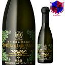 マルス 山梨ワイナリー 公式通販で買える「スパークリングワイン ペティアン・ド・マルス 甲州 250ml 11% [ 本坊酒造 マルス山梨ワイナリー / 山梨県 白ワイン 発泡 辛口 / 甲州 ]」の画像です。価格は770円になります。