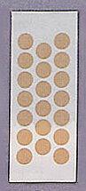 絆創膏(ビニール)φ14mm(20×10枚入)
