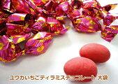 受賞注目全国菓子博覧会名誉総裁賞「ユウカのティラミスチョコレート」のいちご味バージョンティラミスアーモンドチョコ