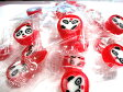 パンダあめ(いちご味)【手作り】【飴】【金太郎あめ】【キャラクター】【動物】【個包装】【ギフト】【ホワイトデー】