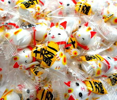 売れてます!「招き猫」が福を招く☆招福♪開運♪まねきねこチョコレート大袋【業務用チョコ】...